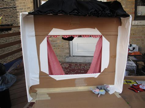 Seven Days Project: Day Four and a Puppet Theater Fitch