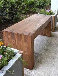 how to build a wood bench DIY - How to Make Outdoor Bench - Quiet Corner