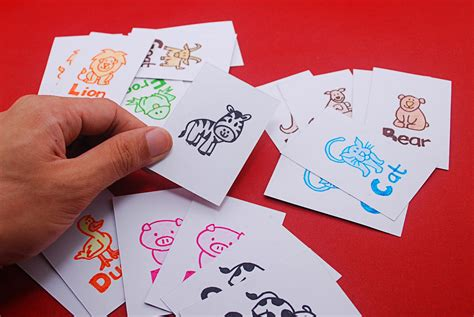 """How To Make The Game """"animal Match Up"""" A Kids Card Game"""