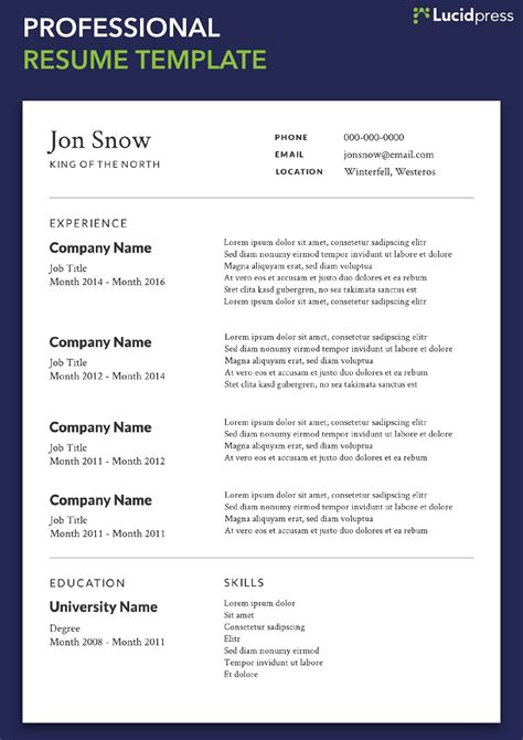 It Professional Resume Format by 10 New Style Resume Templates Sle