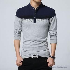 Tee Shirt Moulant Homme : tee shirt de marque pas cher homme t shirt long homme ~ Dallasstarsshop.com Idées de Décoration