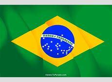 Fiestas de Brasil Tarjetas de la bandera de Brasil