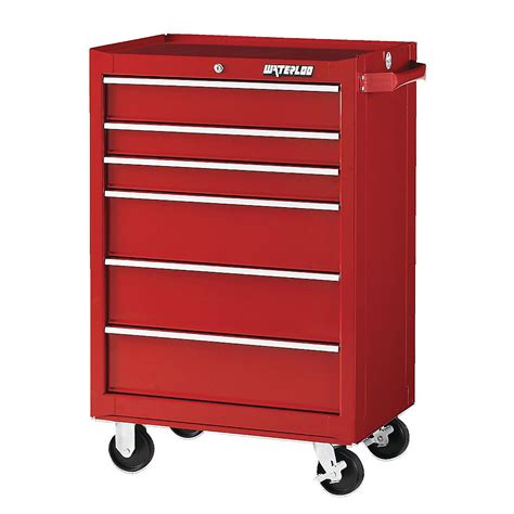 waterloo 6 drawer tool cabinet waterloo traxx series tool boxes