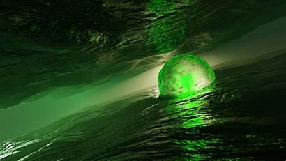 3d Wallpapers 4k Space Abstract Water Sphere