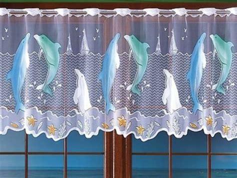 gardinen badezimmer jacquard badezimmer gardine lustige delfinen