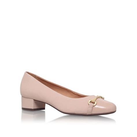 Carvela Kurt Geiger Annie Low Heel Court Shoes In Pink Lyst