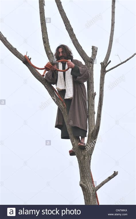 The Of Hanging by Judas Iscariot Is Hanging Himself Stock Photo Royalty