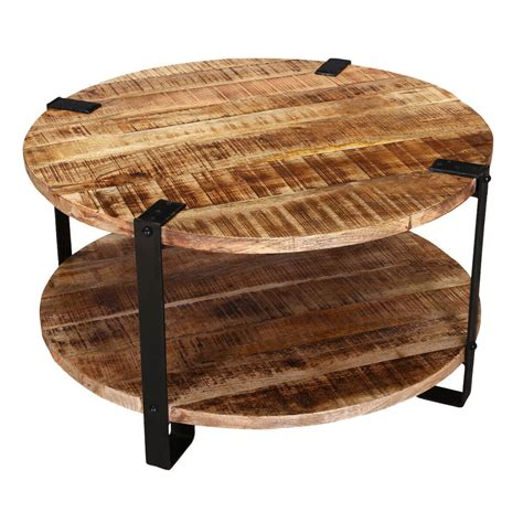 """35"""" Rustic Industrial Round Barn Coffee Table. Formica Tables. Desk Black Wood. Folding Square Table. Computer Desk With Tower Storage. Raw Edge Table. Dentist Front Desk Jobs. Ticketing Help Desk. Small Dressing Table"""