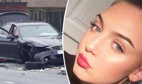 huddersfield car crash girl dies  moldgreen bus stop accident uk news expresscouk