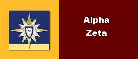 alpha zeta honor societies agricultural sciences