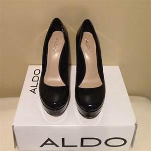 Aldo Shoes Aldo Capecoral Black Patent Leather Platform