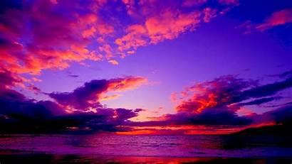 Sunset 1080p Dramatic Sky Clouds Nature Sea