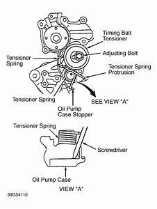 2001 Mitsubishi Mirage Serpentine Belt Routing And Timing