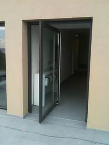 portes d39entree aluminium de la gamme schuco vente With porte d entrée schuco