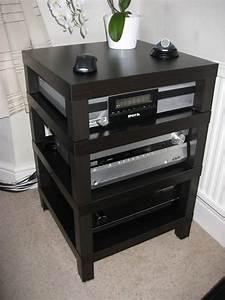 Hifi Rack Ikea : diy hifi rack audio rack stereo cabinet diy rack ~ Watch28wear.com Haus und Dekorationen