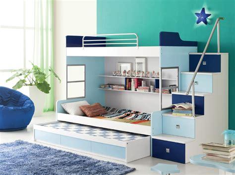 kid bed designs children room set furniture b 03 bunk bed series dark blue light blue white on aliexpress
