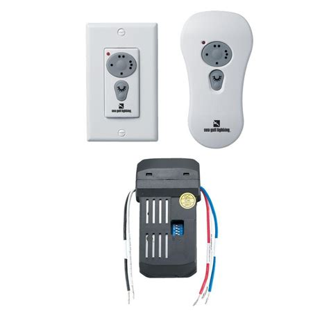 universal ceiling fan remote control kit with reverse hton bay universal ceiling fan wireless wall control