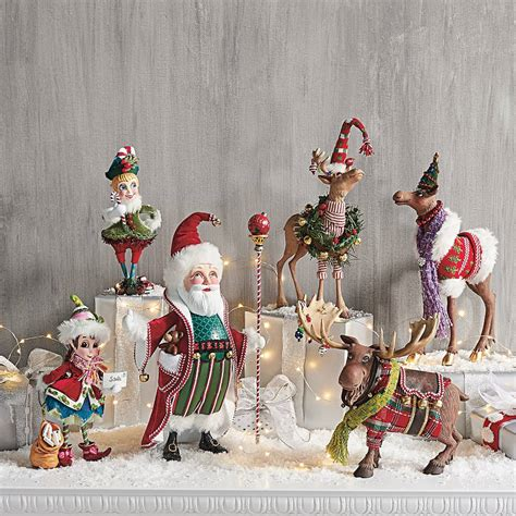 fa la la christmas figurines grandin road blog