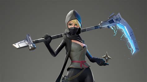 2560x1440 Fortnite Female Ninja 1440p Resolution Hd 4k