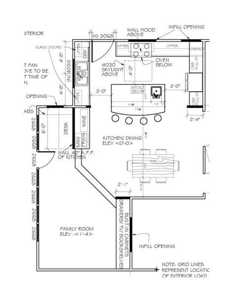 kitchen floor plans with islands u shaped kitchen floor plans with island