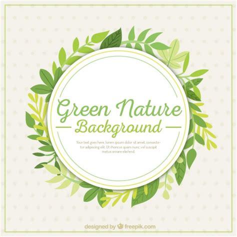 diseño flyer verde circulo template fundo da natureza verde folhas baixar vetores gr 225 tis