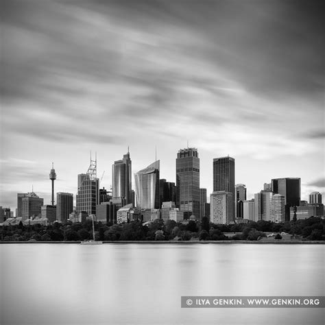 sydney city skyline print  fine art landscape