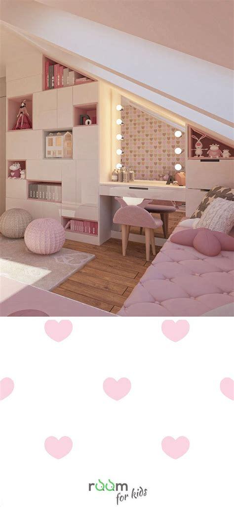 Glanzend Madchenzimmer Gestaltungsidee F 252 R Ein M 228 Dchenzimmer Im Rosa Design