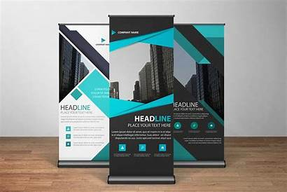 Banner Stands Modern Displays Retractable Stand Creative
