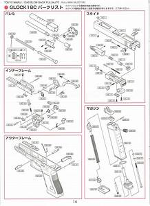 Glock 18c Gas Blowback Pistol Parts  U0026 Upgrades For Tokyo