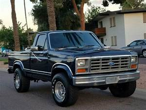 1986 Ford F150 Xlt Lariat 4x4 Short Bed 351 V8 A  T Fully