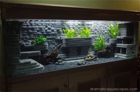 Diy Aquarium Background Aquarium Backgrounds For Large Tanks 2017 Fish Tank