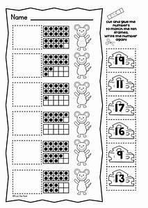 Printable Worksheets » Ten Frame Worksheets For First