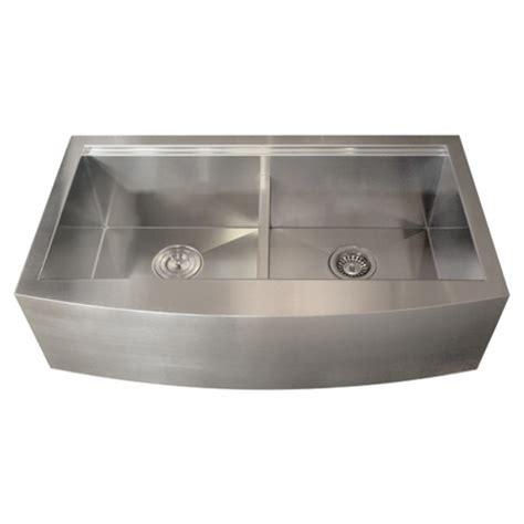 ticor kitchen sinks ticor tr9030 16 stainless steel apron kitchen sink 2734