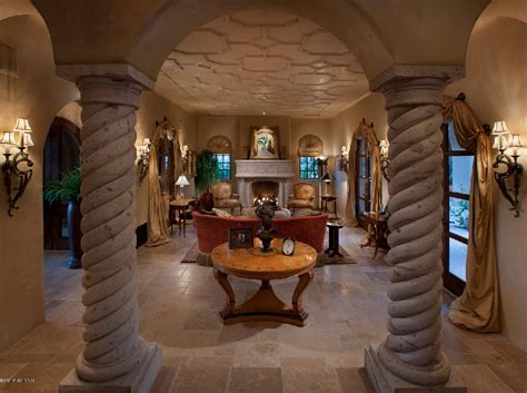 10,000 Square Foot Spanish Style Mansion In Scottsdale, AZ