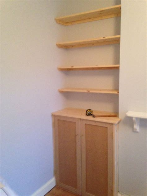 Cupboard Shelving by Fitted Shelving Cupboards And Flooring P D Carpentry