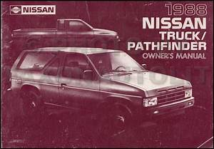 1988 Nissan Truck And Pathfinder Wiring Diagram Manual