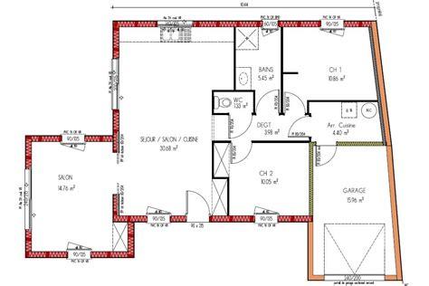 plan maison 150m2 4 chambres plan maison en bois de plain pied plans maisons