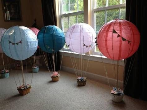 Hot Air Balloon Centerpieces Carnival Wedding Ideas