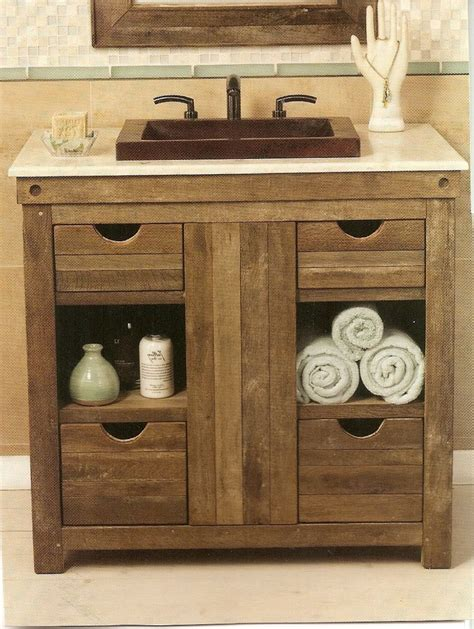 Rustic Modern Bathroom Vanities by 25 Vanities For Small Bathrooms With Exles