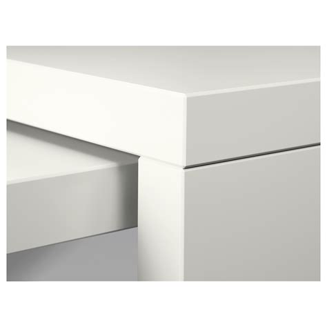 bureau malm ikea malm bureau avec tablette coulissante blanc 151x65 cm ikea