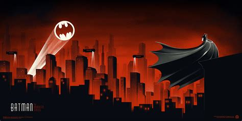 Phantom City Creative Batman The Animated Series Mondo