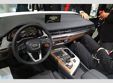 CES 2015 New Audi Q7 SUV's cabin is revealed in Las Vegas