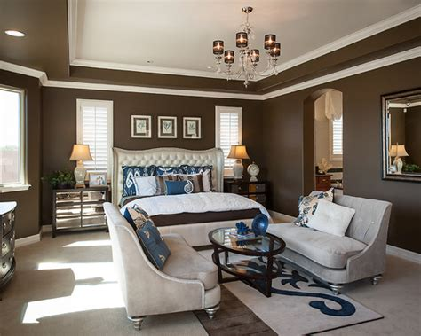 Chocolate Brown Couch Living Room Ideas by Brown And Blue Interior Color Schemes For An Earthy And