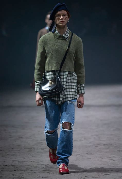 alessandro michele unveils gucci fw collection