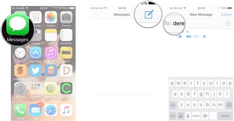 how to send message on iphone how to send imessages on iphone or imore