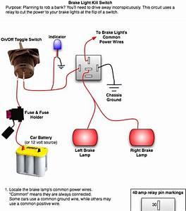 Brake Light Tail Light Wiring Diagram Chevy