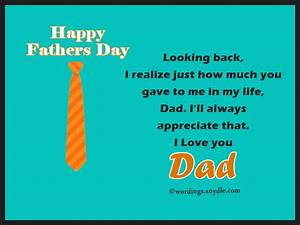 Fathers Day Card Wordings - Wordings and Messages