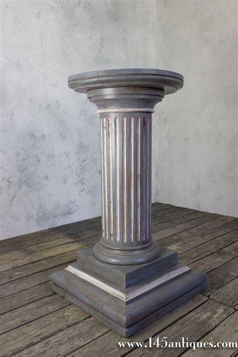 Column Pedestal by Painted Pedestal Column For Sale At 1stdibs