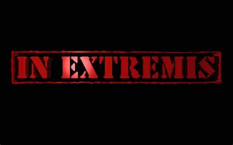 In Extremis by Image Inextremis Splash Jpg Screenshot Of In Extremis