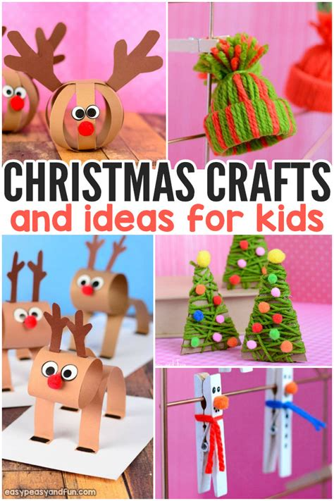 Festive Christmas Crafts For Kids  Tons Of Art And